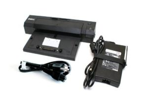 Dell PR02X Dock USB 3.0 + PA4E Adapter-0