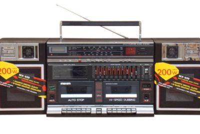 Retro Boombox-3694