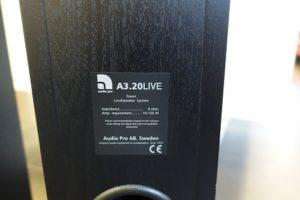 Audio Pro A3.20LIVE põrandakõlarid-5964