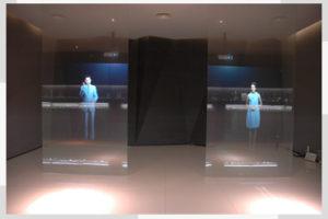 Isekleepuv projektsioonkile klaasile-0