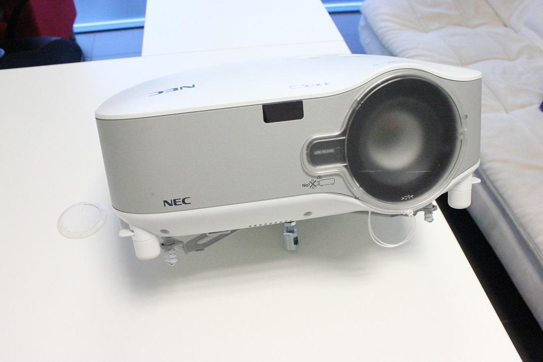 Wifi toega projektor NEC NP1250-0