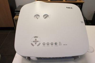Wifi toega projektor NEC NP1250-2800