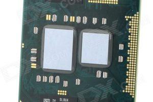 Kasutatud protsessor sülearvutile Intel Pentium P6200 2,13GHz-0